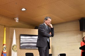 Fernando Zapata López, Universidad Nacional de Colombia  (Foto: Aura Flechas /Dirección Nacional de Extensión, Innovación y Propiedad Intelectual / Vicerrectoría de Investigación/U. N.)