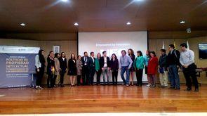 Asistentes, conferencistas y organizadores del seminario (Foto: Aura Flechas / DNEIPI / Vicerrectoría de Investigación de la Universidad Nacional de Colombia)