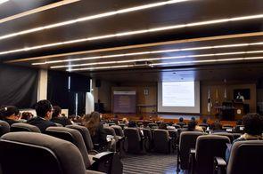 Lien Verbauwhede Koglin, consejera de la División de Apoyo a las Pymes y a la Iniciativa Empresarial de Organización Mundial de la Propiedad Intelectual (OMPI) (Foto: Aura Flechas /Dirección Nacional de Extensión, Innovación y Propiedad Intelectual / Vice
