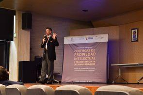 Wilson Rafael Ríos Ruiz, abogado especializado en Propiedad Intelectual y Tecnologías de Información y Comunicaciones (Foto: Aura Flechas /Dirección Nacional de Extensión, Innovación y Propiedad Intelectual / Vicerrectoría de Investigación/U. N.)