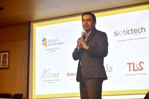 Óscar Quintero de Tecnnova (Foto: Andrés Barriga / VRI)