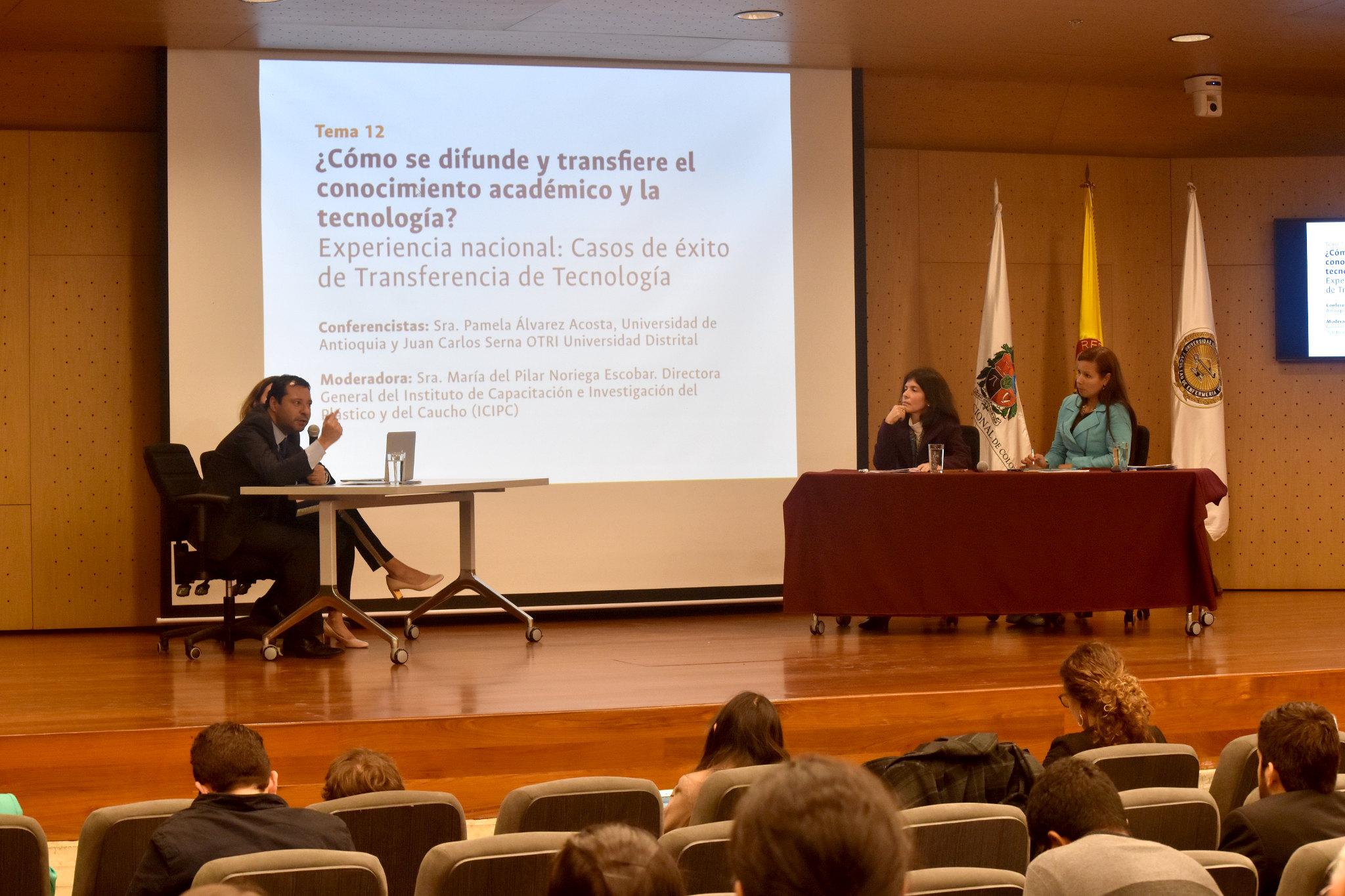 ¿Cómo se difunden y transfieren el conocimiento académico y la tecnología? (Foto: Aura Flechas / DNEIPI / Vicerrectoría de Investigación (VRI) - Universidad Nacional de Colombia)