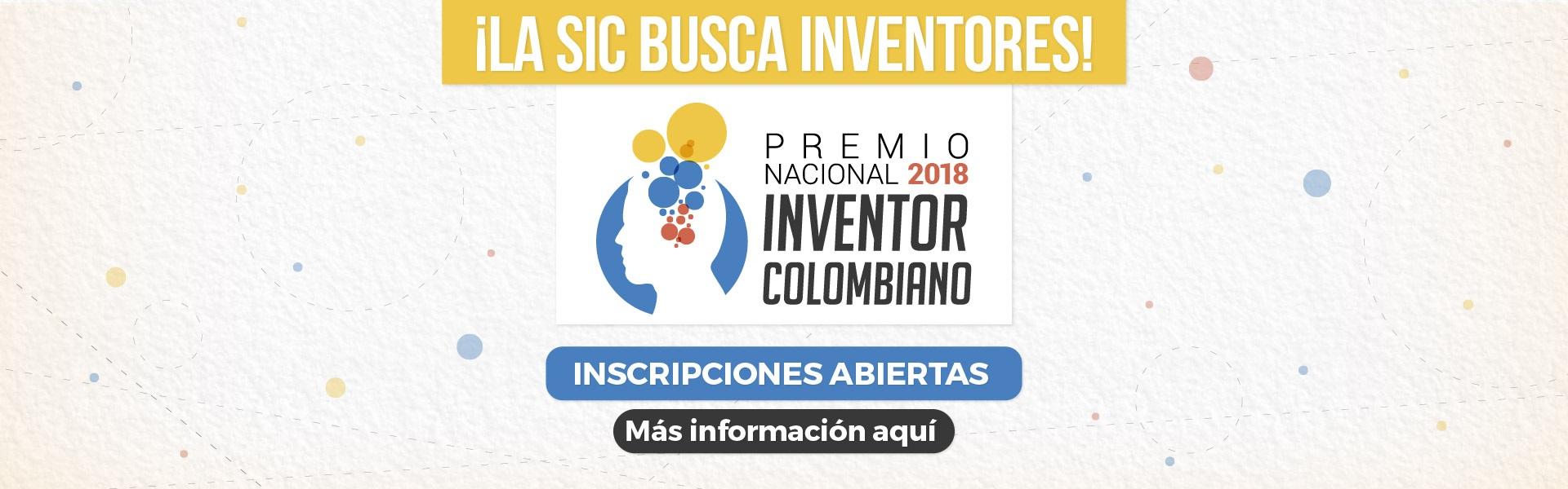 Premio Nacional al Inventor Colombiano 2018