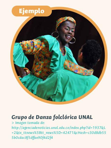 Grupo de danza folclórica de la UNAL (Foto: Agencia de Noticias UNAL)