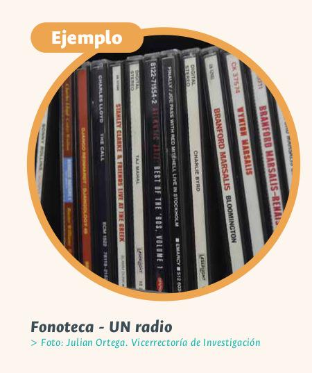 Fonoteca UNAL (Foto: VRI)