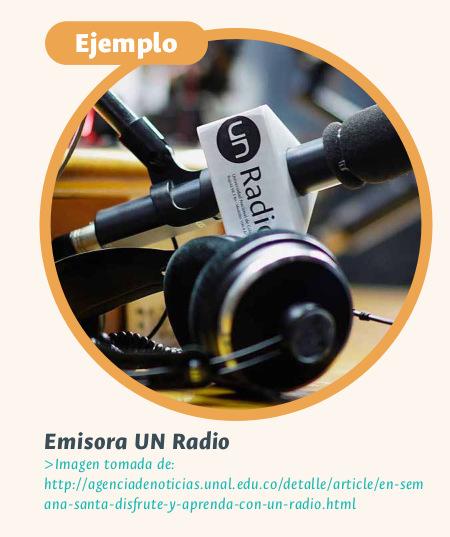 Emisora UN Radio (Foto: Agencia de Noticias UNAL)